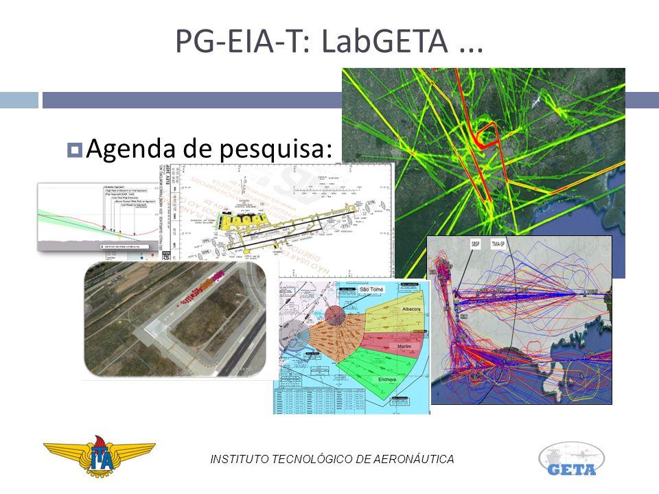 PG-EIA-T: LabGETA... Agenda de pesquisa: INSTITUTO TECNOLÓGICO DE AERONÁUTICA
