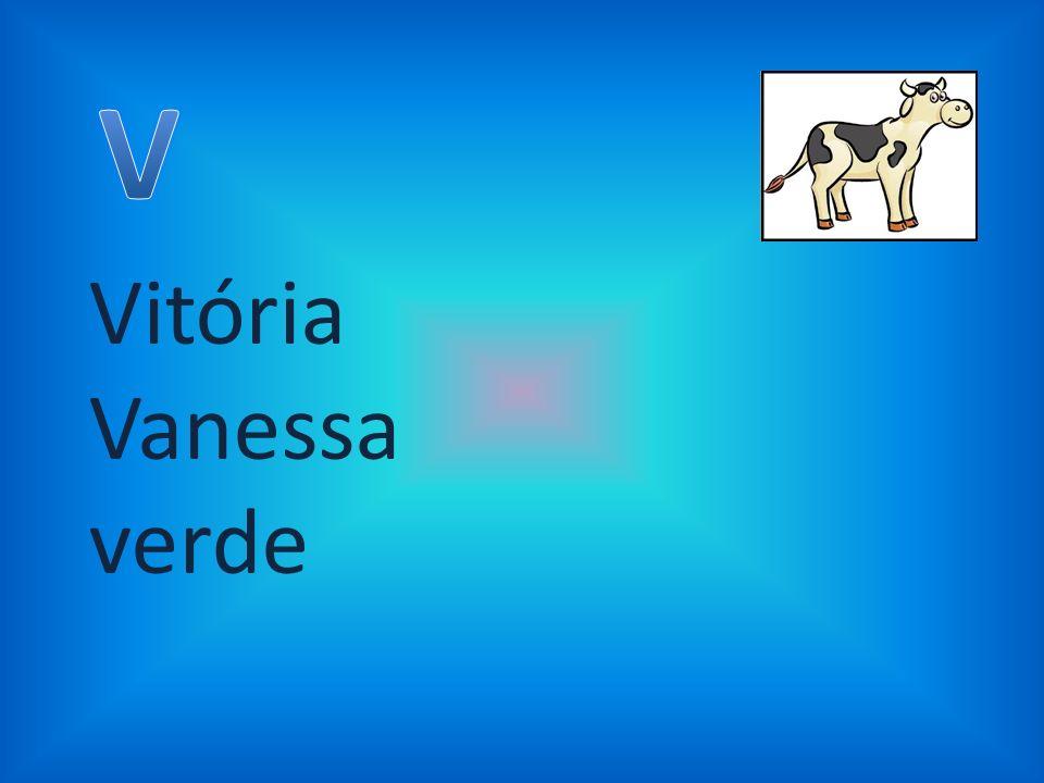 Vitória Vanessa verde