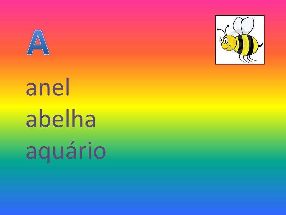 anel abelha aquário
