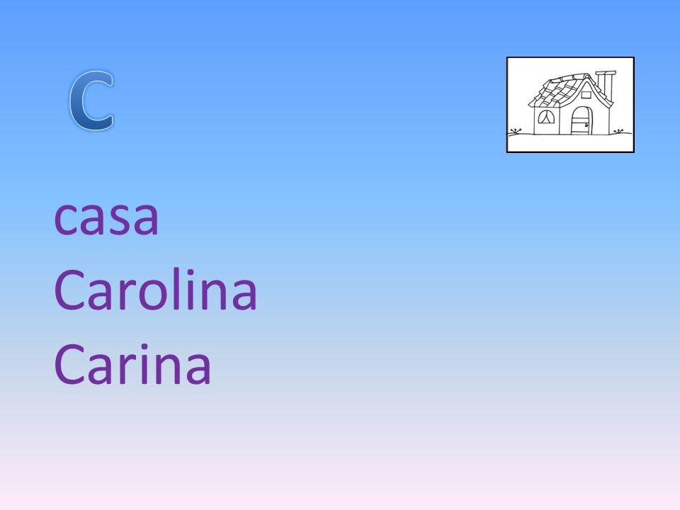 casa Carolina Carina