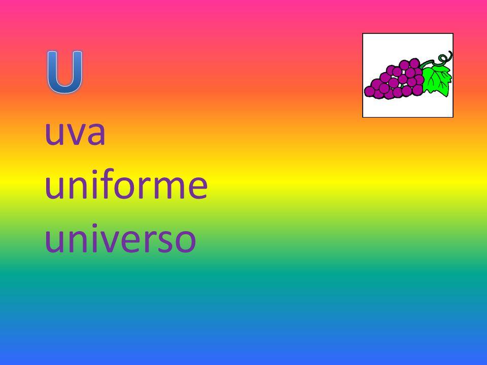 uva uniforme universo
