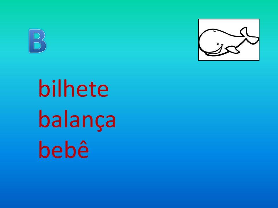 bilhete balança bebê
