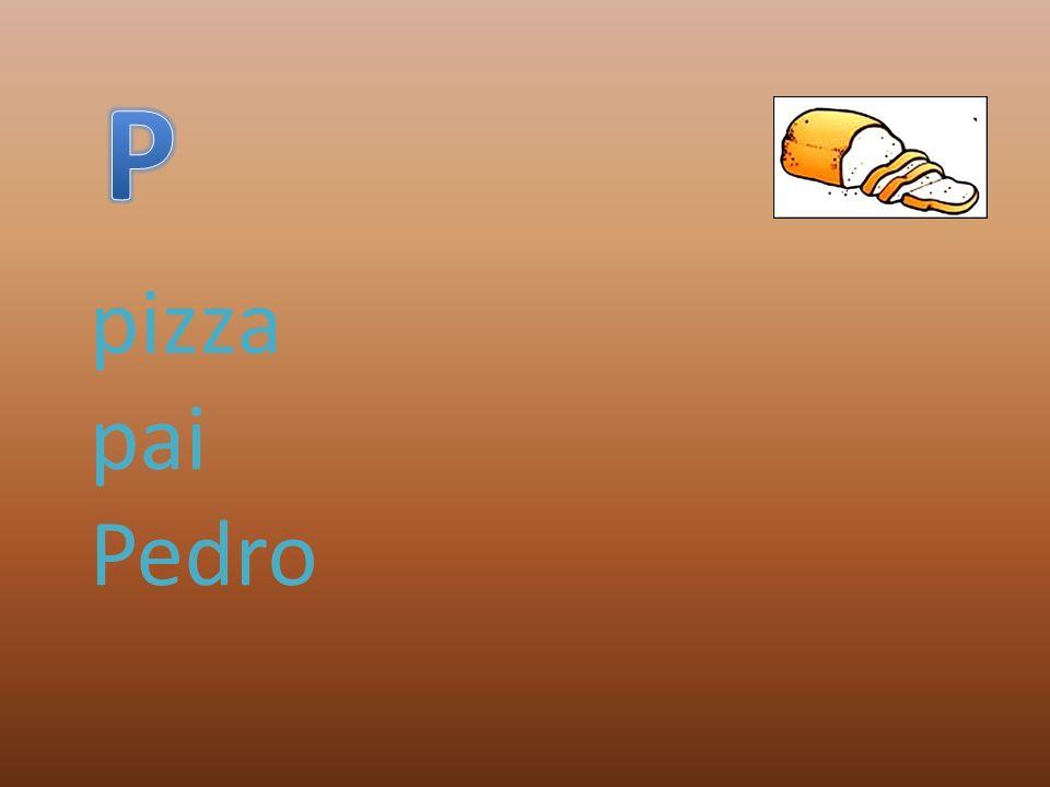 pizza pai Pedro