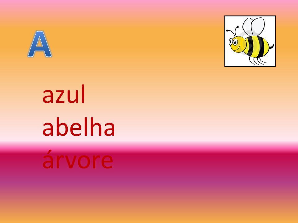azul abelha árvore