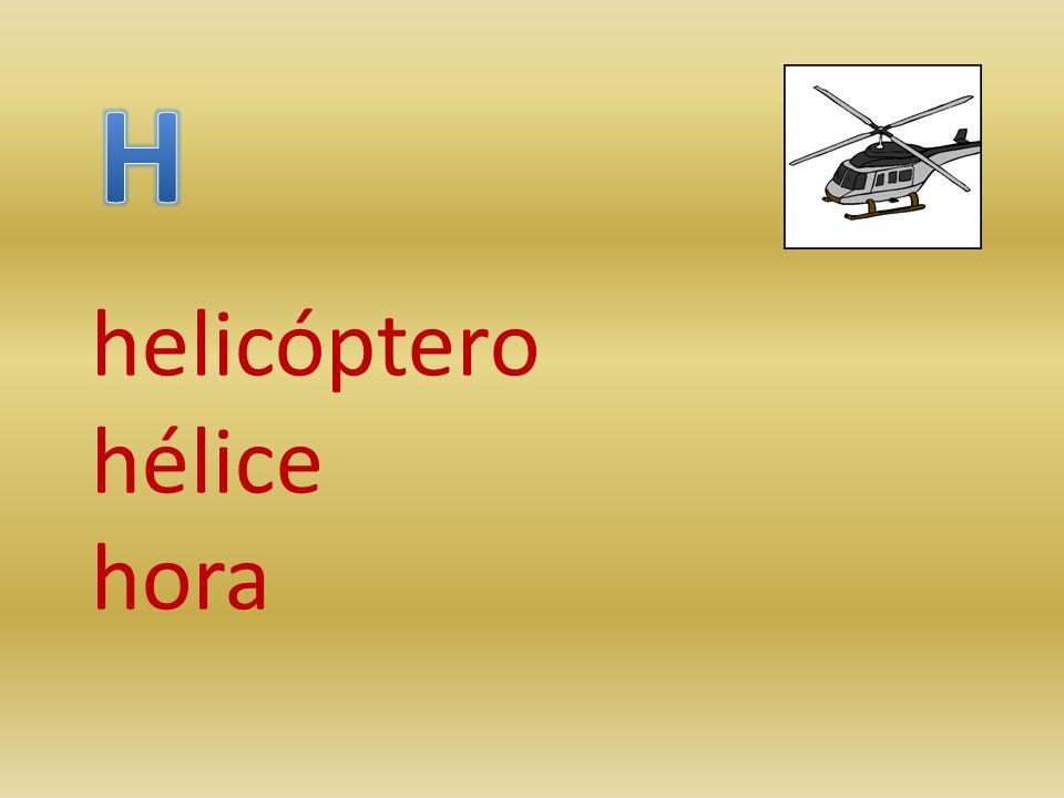 helicóptero hélice hora