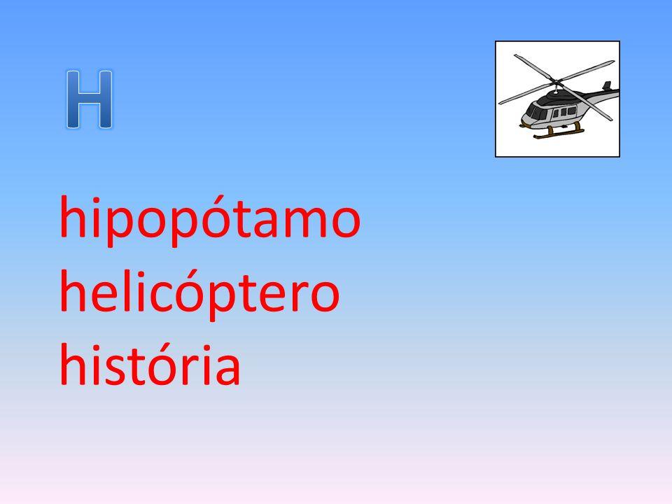 hipopótamo helicóptero história