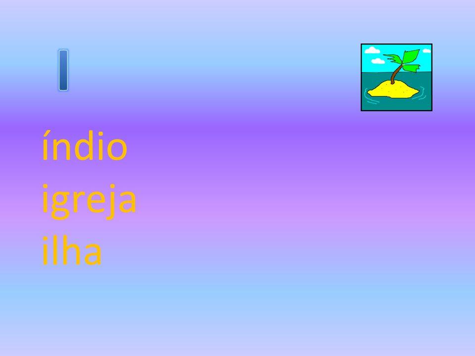 índio igreja ilha