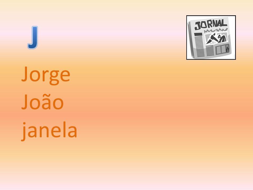 Jorge João janela