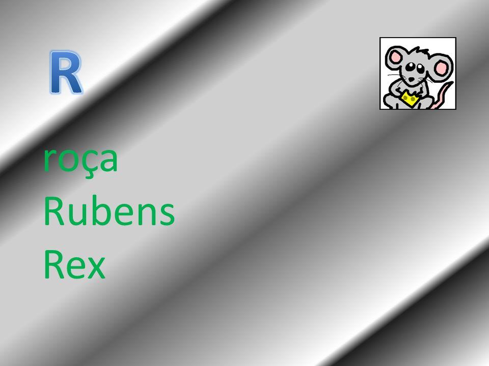 roça Rubens Rex