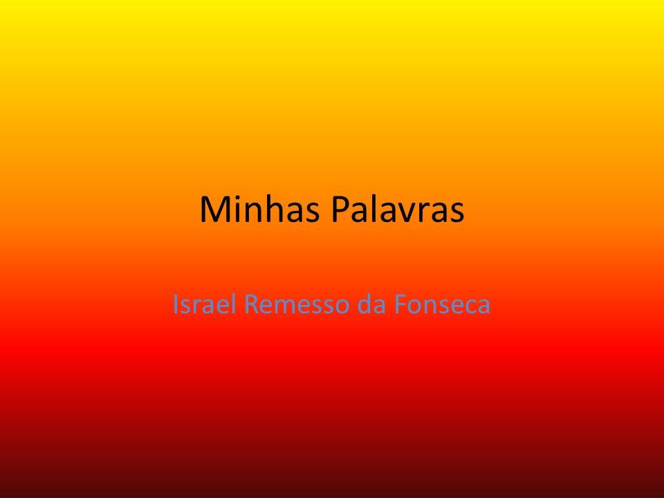 Minhas Palavras Israel Remesso da Fonseca