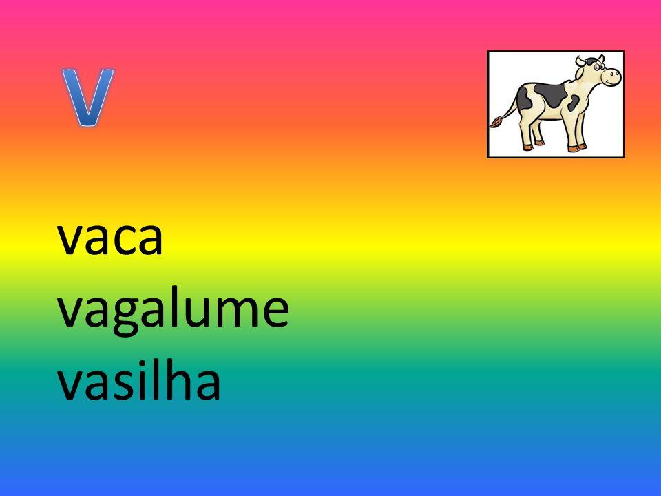 vaca vagalume vasilha