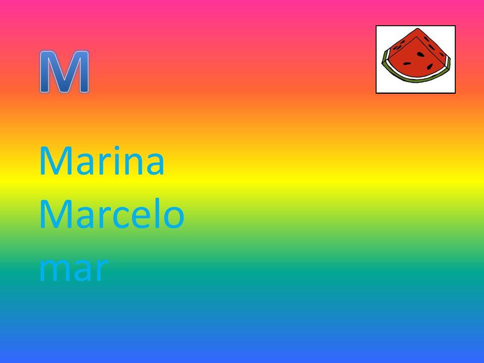 Marina Marcelo mar