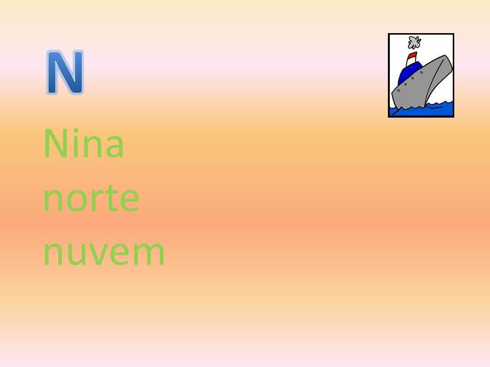 Nina norte nuvem