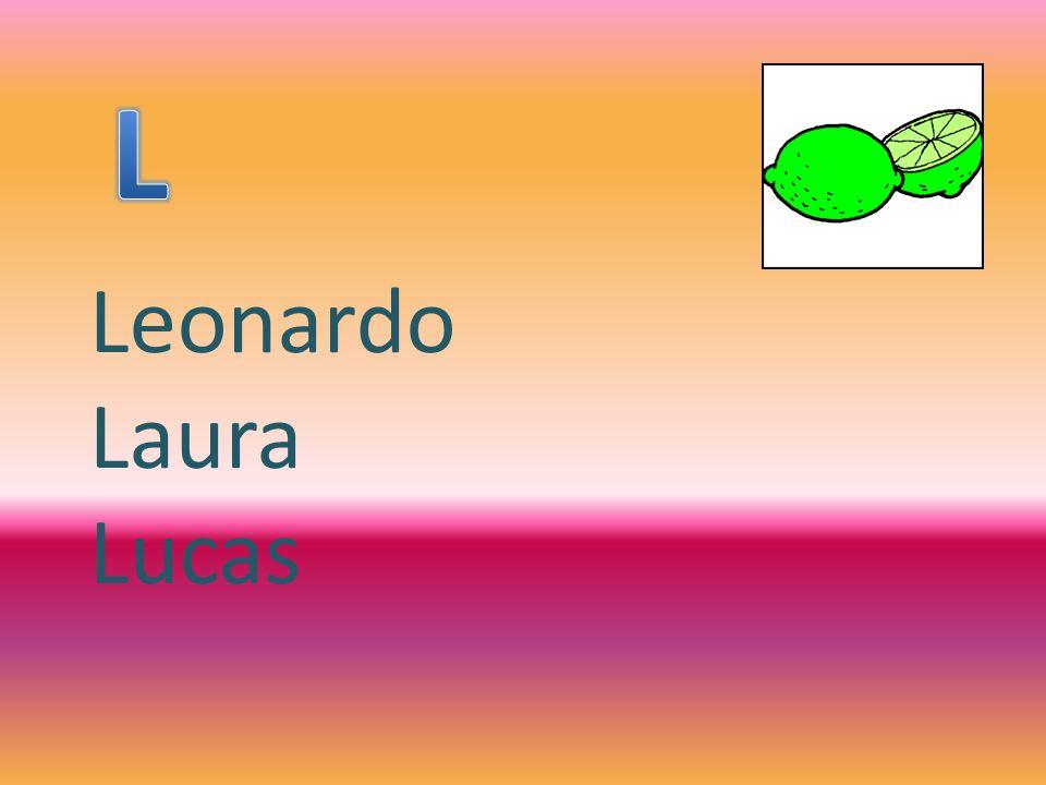 Leonardo Laura Lucas