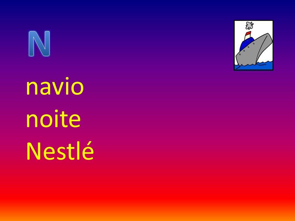 navio noite Nestlé