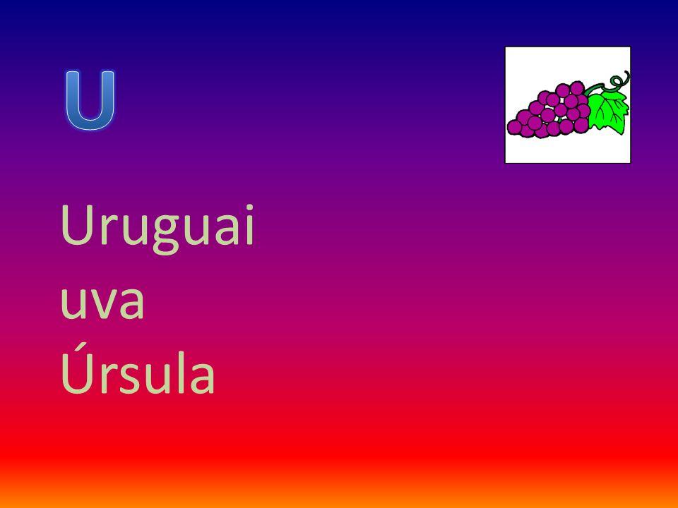Uruguai uva Úrsula