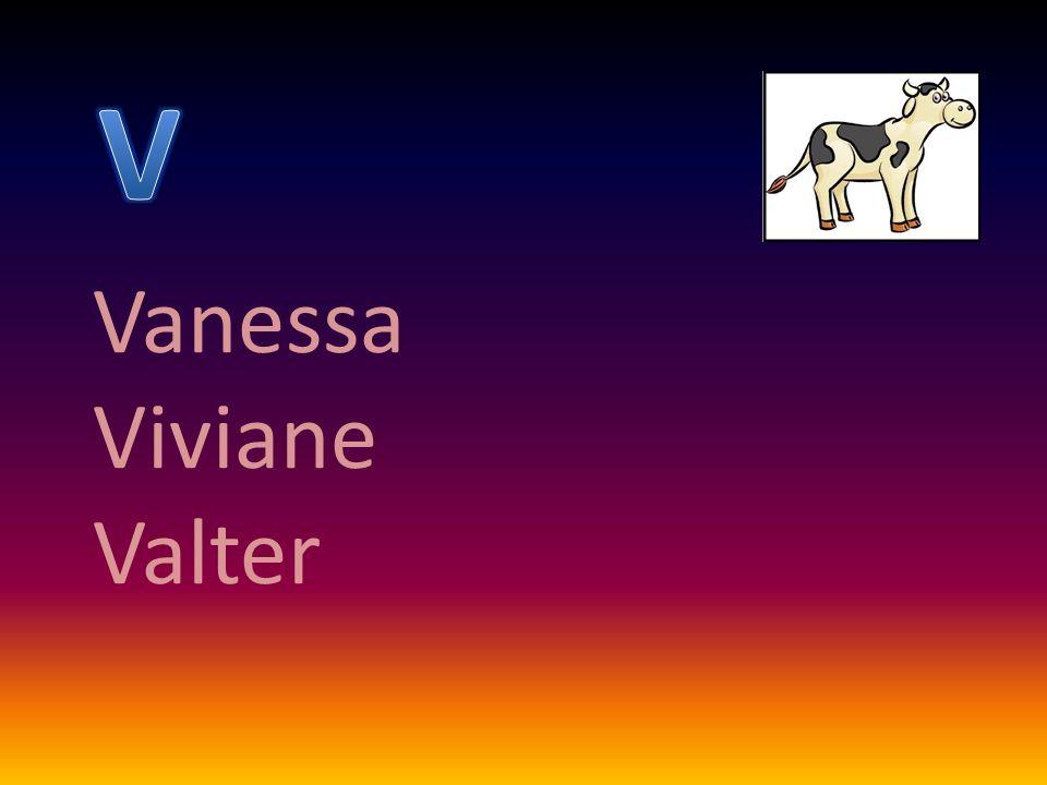 Vanessa Viviane Valter