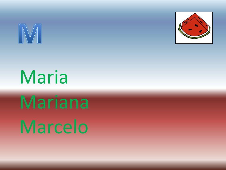 Maria Mariana Marcelo