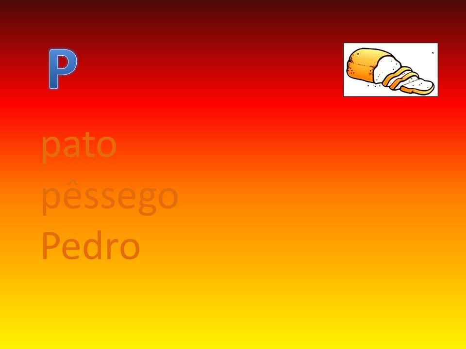 pato pêssego Pedro