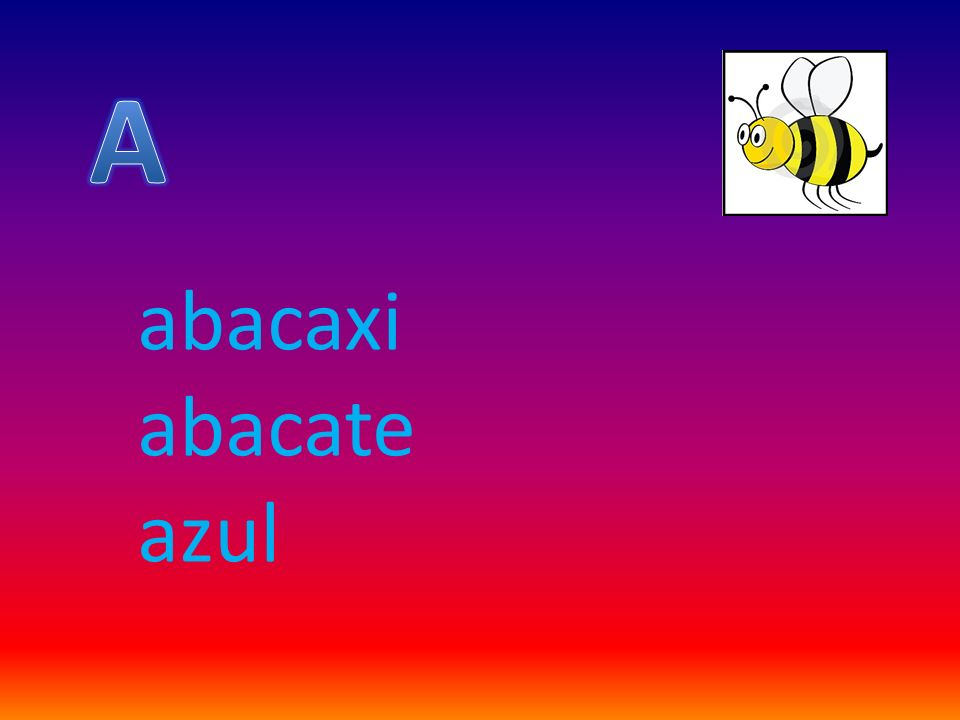 abacaxi abacate azul