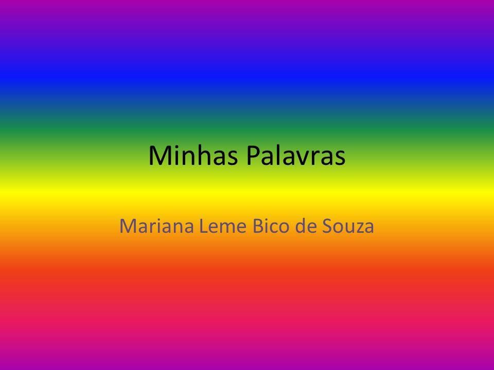 Minhas Palavras Mariana Leme Bico de Souza