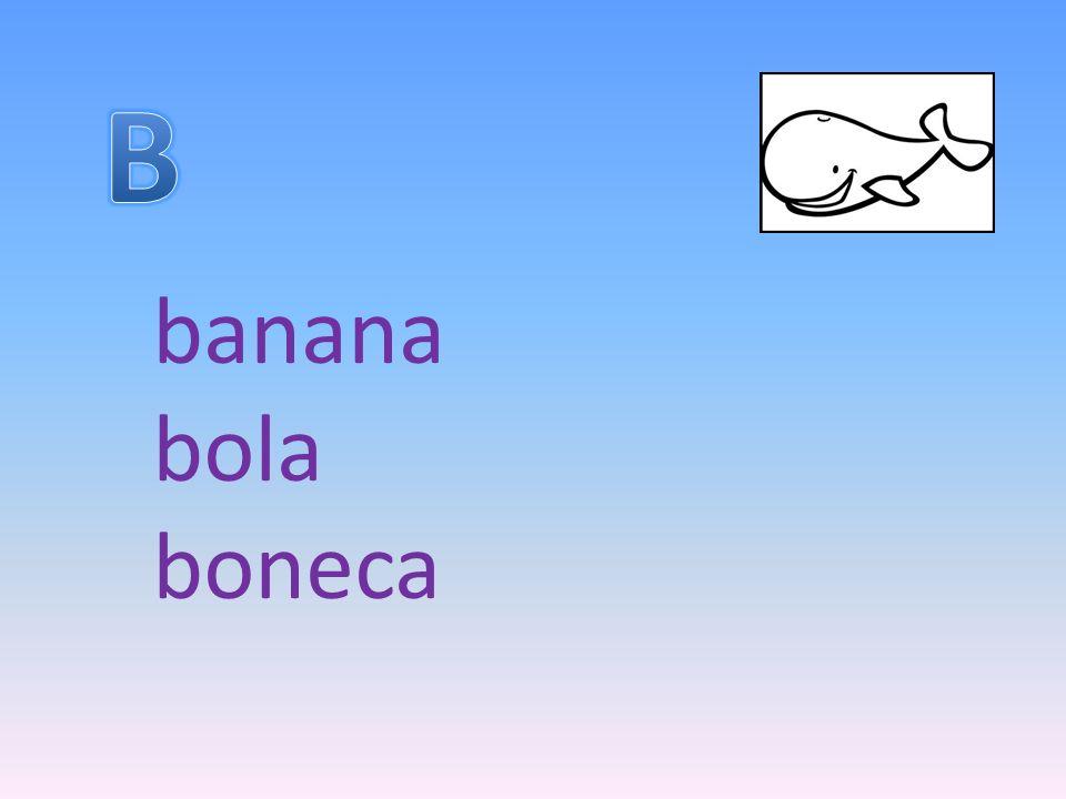 banana bola boneca