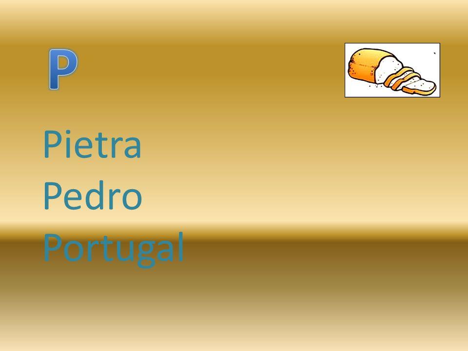 Pietra Pedro Portugal