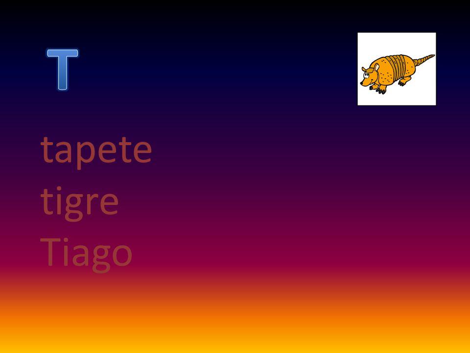 tapete tigre Tiago
