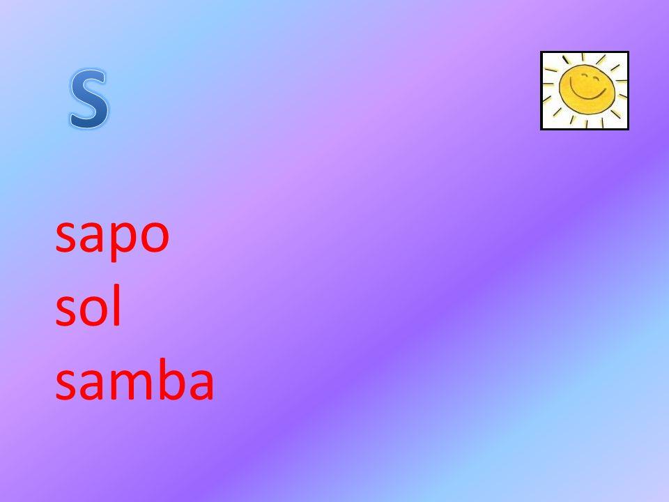 sapo sol samba