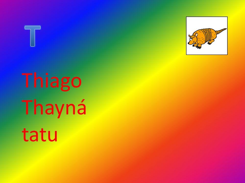 Thiago Thayná tatu