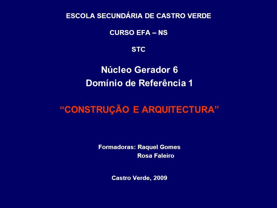 Conceitos fundamentais Construção: Na arquitectura e na engenharia civil, a construção é a montagem de qualquer infra-estrutura.