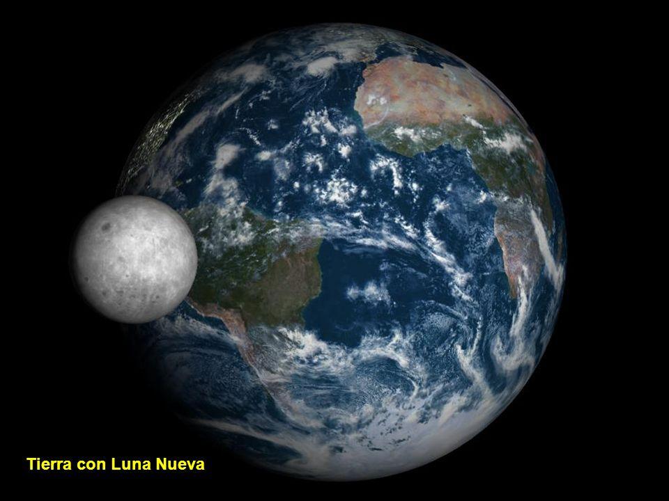 Terra com Lua Crescente
