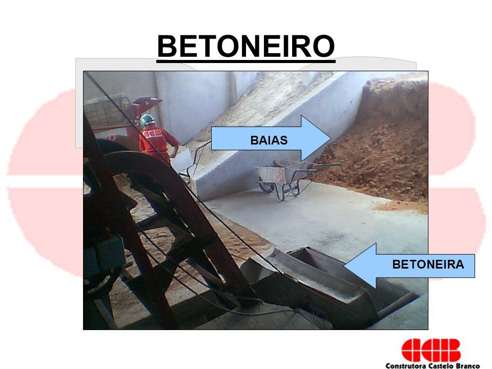 BETONEIRO BAIAS BETONEIRA