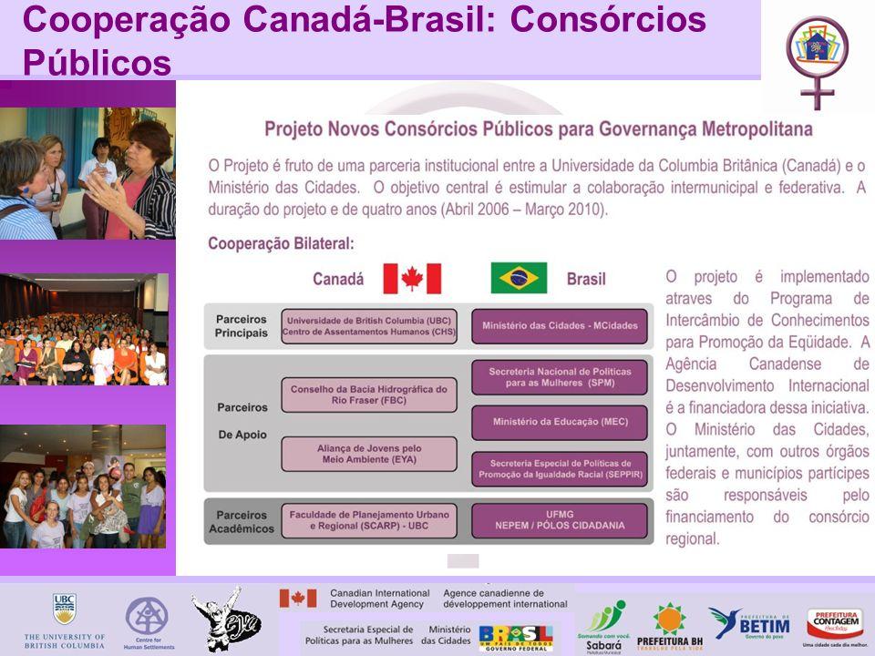 Cooperação Canadá-Brasil: Consórcios Públicos