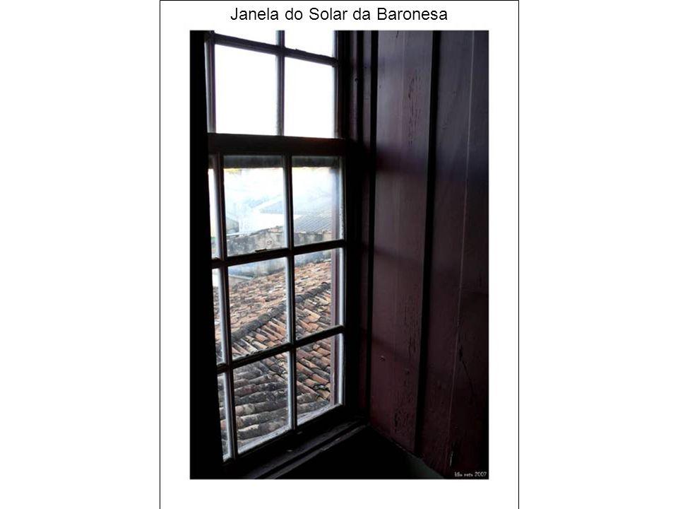 Janela do Solar da Baronesa