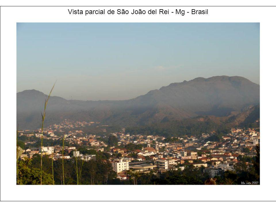 Vista parcial de São João del Rei - Mg - Brasil
