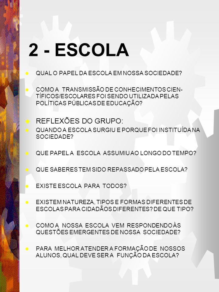 QUAL O PAPEL DA ESCOLA EM NOSSA SOCIEDADE.