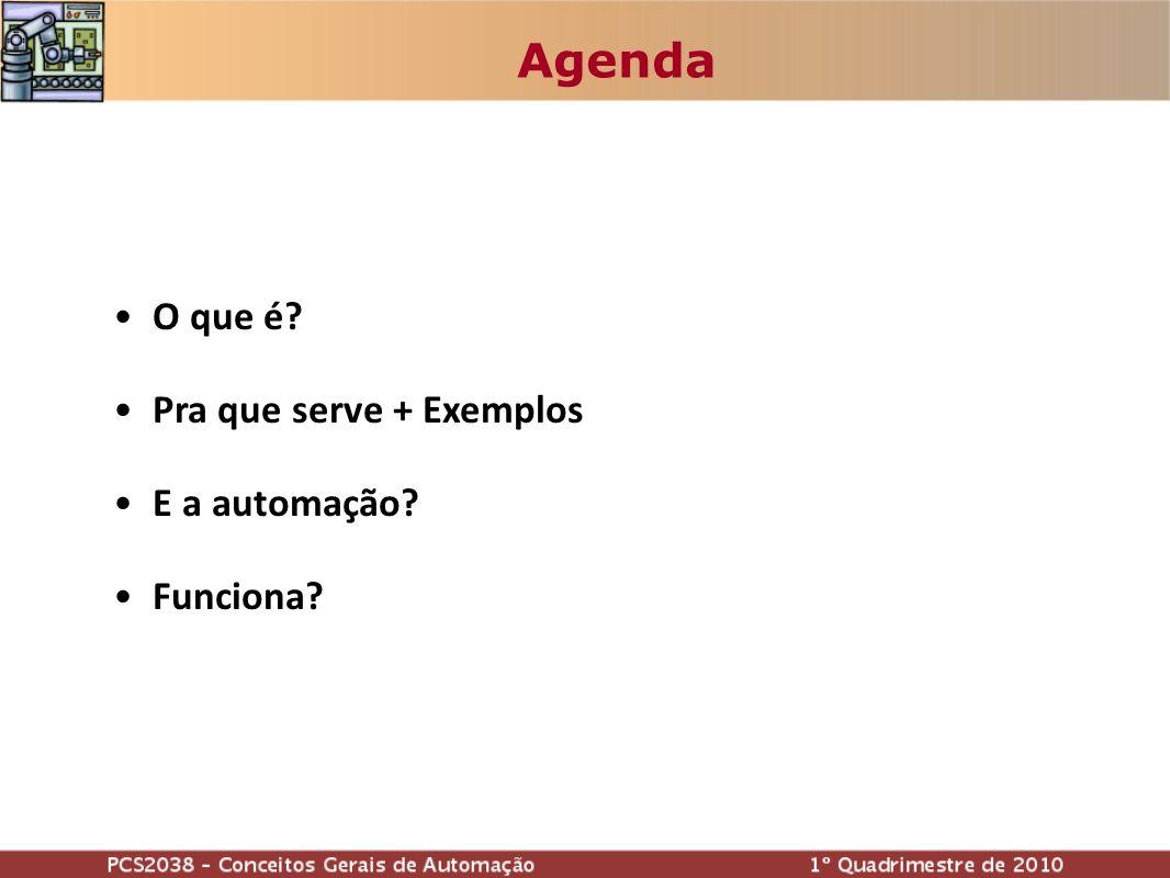 Agenda O que é? Pra que serve + Exemplos E a automação? Funciona?
