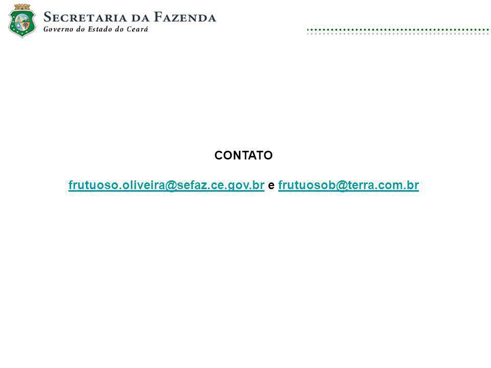 DISCIPLINA: DIREITO AMBIENTAL E ECOLOGIA CONTATO frutuoso.oliveira@sefaz.ce.gov.brfrutuoso.oliveira@sefaz.ce.gov.br e frutuosob@terra.com.brfrutuosob@