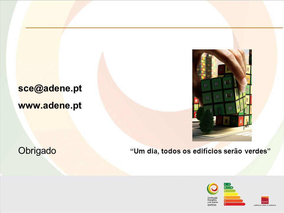sce@adene.pt www.adene.pt Obrigado Um dia, todos os edifícios serão verdes