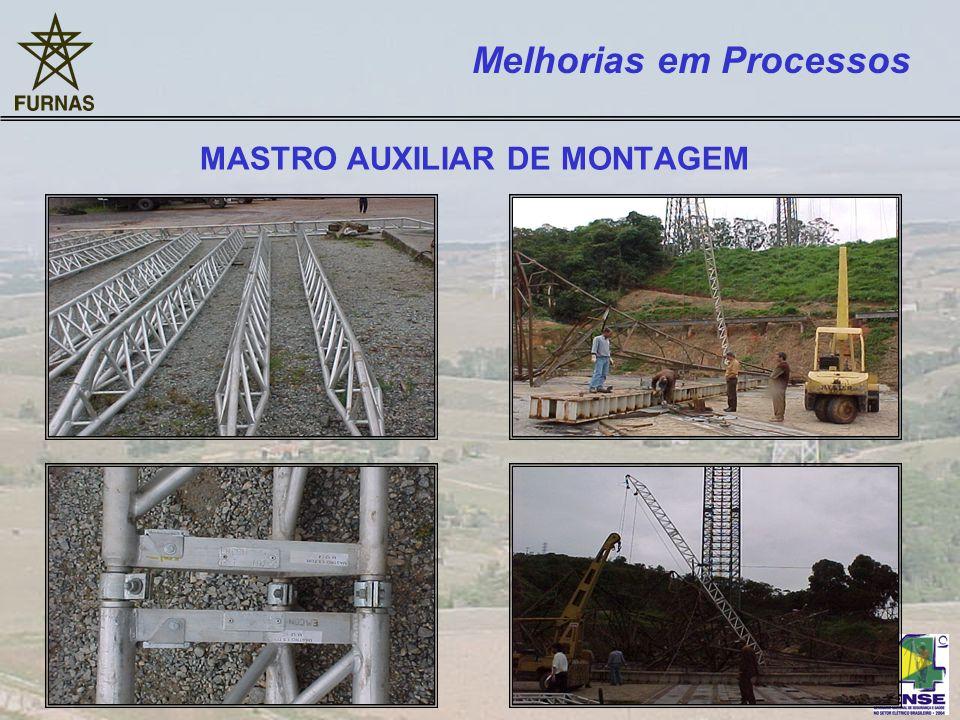 MASTRO AUXILIAR DE MONTAGEM Melhorias em Processos