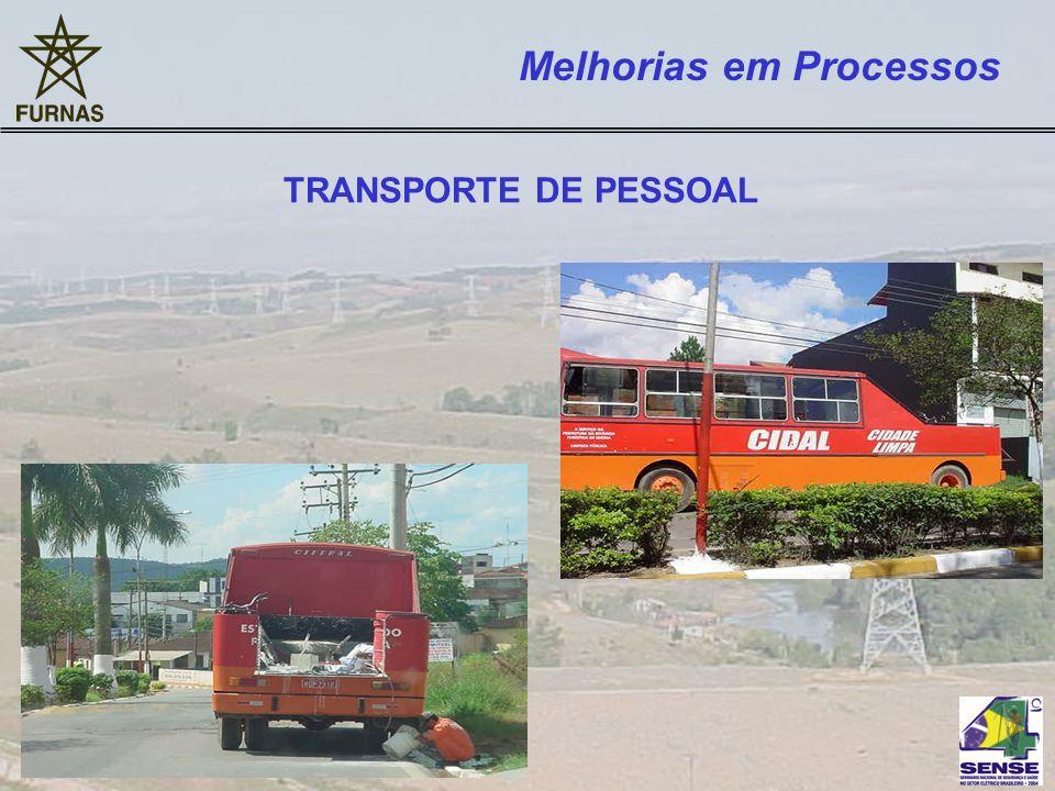 TRANSPORTE DE PESSOAL Melhorias em Processos