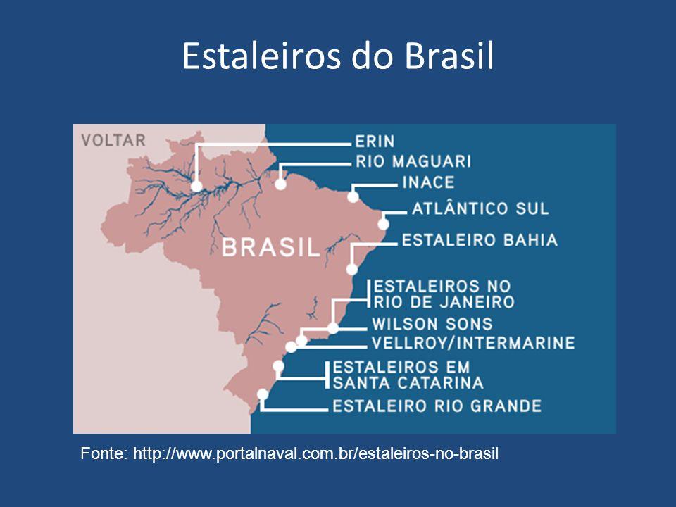 Desenvolvimento da Indústria Naval Principais áreas estudadas São Roque do Paraguaçu As instalações de reparo e construção naval, localizadas em São Roque do Paraguaçu, no município de Maragogipe, pertencentes à Petrobras, ocupam uma área superior a 500.000m 2.