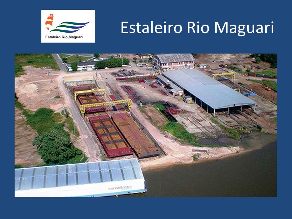 Fundado em 1997, às margens do Rio Maguari, em Belém do Pará, tem capacidade para construir e reparar balsas, empurradores, rebocadores, barcos de pesca e de passageiros, ferry boat, terminais flutuantes e estruturas metálicas em aço ou alumínio.