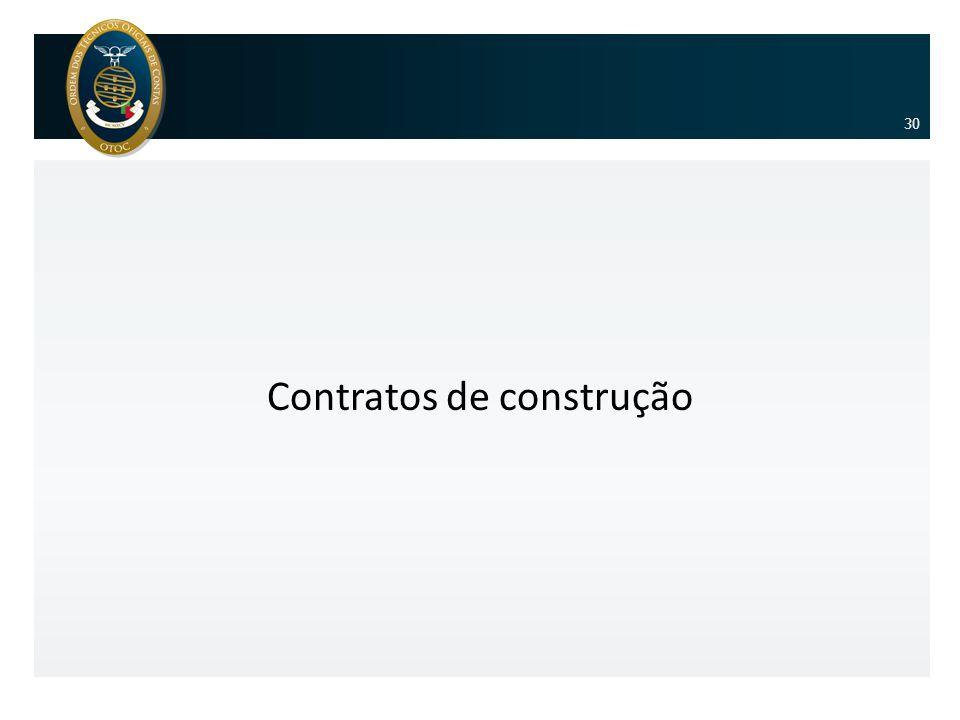 Contratos de construção 30