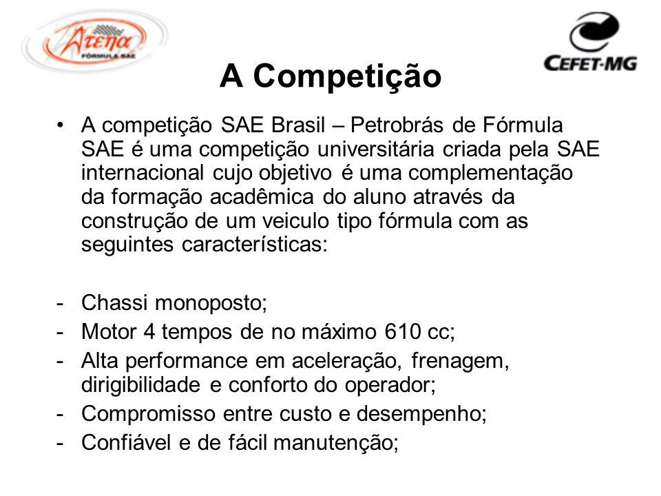 A Competição A competição SAE Brasil – Petrobrás de Fórmula SAE é uma competição universitária criada pela SAE internacional cujo objetivo é uma compl