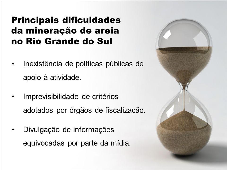 Inexistência de políticas públicas de apoio à atividade. Imprevisibilidade de critérios adotados por órgãos de fiscalização. Divulgação de informações