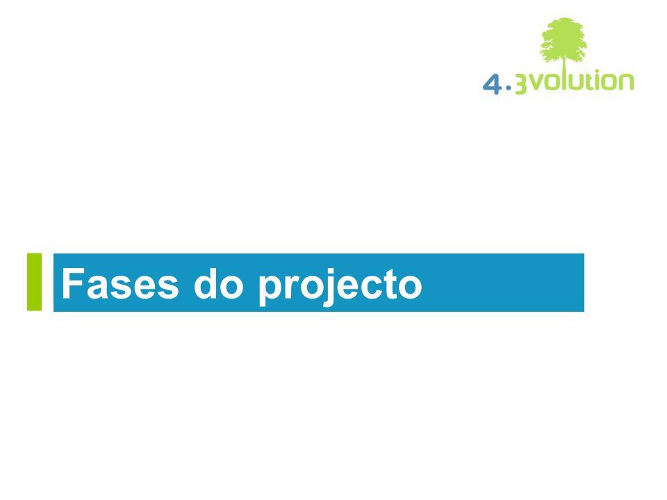 1.Qualidade de vida 2.Análise de soluções e tecnologias existentes 3.Análise de soluções e tecnologias existentes por especialidade 4.Desenvolvimento por especialidade: Arquitectura e Construção sustentável, Eficiência energética, Águas, Resíduos, Infra-estruturas Colectivas, Mobilidade e Acessos.