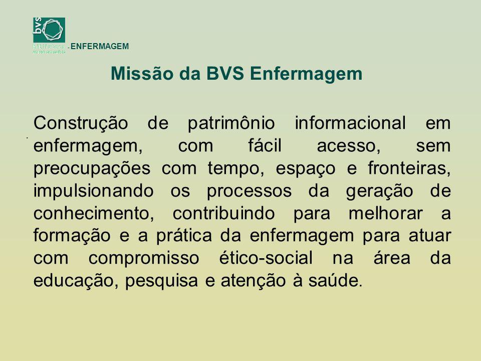 - ENFERMAGEM Muito obrigado! http://enfermagem.bvs.br/ bvsenfermagem@ufmg.br xicolana@ufmg.br