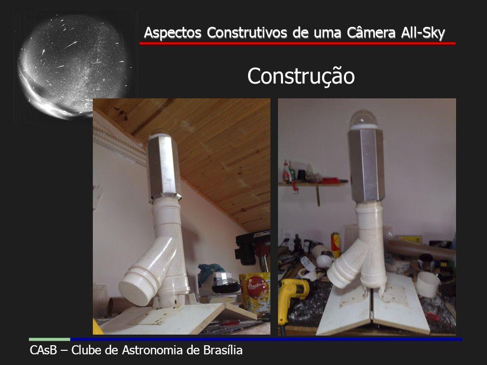 Aspectos Construtivos de uma Câmera All-Sky CAsB – Clube de Astronomia de Brasília Aspectos Construtivos de uma Câmera All-Sky Construção